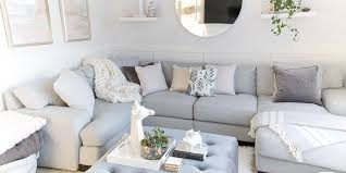 family friendly living rooms light and bright kid friendly living room grey gold and blush