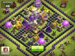 big clash of clans base clash of clans biggest fail ever black hole base youtube