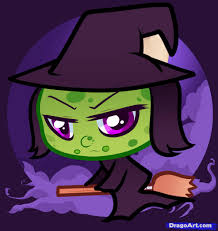 how to draw a chibi witch chibi witch step by step witches
