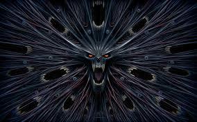 scary halloween screensaver dark art artwork fantasy artistic original psychedelic horror evil