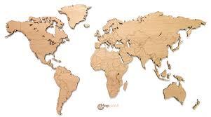 World Map Cork Board by Mapawall Wooden World Maps Mapyourwall Com