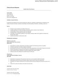 experienced resume sample nursing resume examples with clinical experience nursing resume
