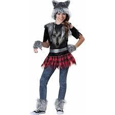 wear wolf girls u0027 teen halloween costume walmart com