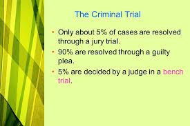 A Bench Trial Is Heard By Basic Criminal U0026 Constitutional Law The Court System Ppt Download