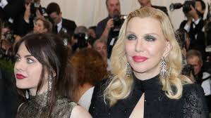 courtney love u0026 daughter frances bean cobain are twinning in marc