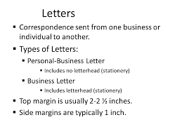 business letters cover letters and mailing labels too ppt download
