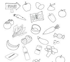 healthy food coloring pages preschool healthy food coloring page healthy foods coloring pages healthy food