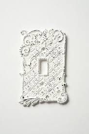 Shabby Chic Light Switch Covers by Tin Roof Switch Plate Single Anthropologie Shabby Chic