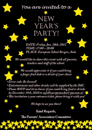 party invitations elegant new year party invitation wording ideas