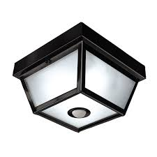 Outdoor Ceiling Lights - heath zenith hz 4305 4 light motion activated square outdoor close
