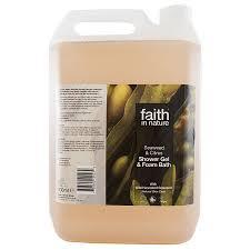 faith in nature shower gel bath foam seaweed citrus 5 faith in nature shower gel bath foam seaweed citrus 5 litres faith in nature