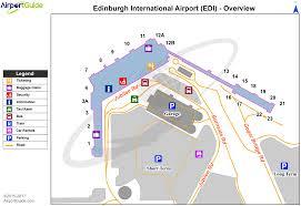 Dulles Terminal Map Edinburgh Edinburgh Edi Airport Terminal Map Overview