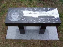 memorial benches granite memorial bench set at mt angeles memorial park in port