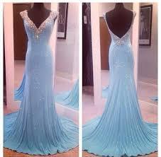Light Blue Mermaid Dress Dress Gown Prom Dress Frozen Light Blue Clothes Straps