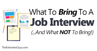 Bring Resume To Interview The Interview Guys Blog Get The Interview Get The Job