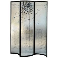Screen Room Divider Home Decor Glass Screen Room Divider By Fiam For Sale At
