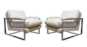 Puffy Chair Chair Design Ideas Modern Awesome Milo Baughman Chairs Milo