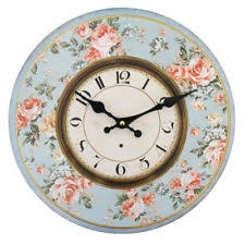 Large Shabby Chic Wall Clock by Large 1950s Newgate Station Black Shabby Chic Retro Kitchen