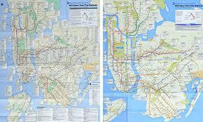 mta map subway designing a better subway map idsgn a design