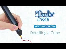 27 best 3doodler creations by 3doodler create getting started doodling a cube youtube