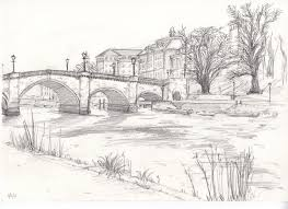 pencil sketch drawings landscape how to draw landscapes for the