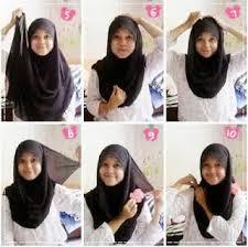 tutorial jilbab remaja yang simple hijab trend tumblr