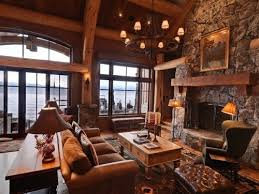 log cabin living room decor elegant log cabin home endearing cabin living room decor home