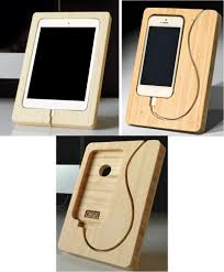Phone Charging Stand by Chisel Out Some Space For An Ipad Mini Or Iphone Charging Dock