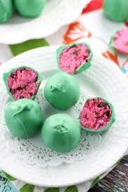 easy watermelon cake balls the gold lining