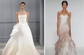 ombre wedding dress trend spotting ombre wedding dresses portland groom