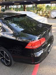 volkswagen passat rear woobest abs rear wing rear trunk rear roof spoiler wing visor for