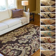 Paisley Area Rug Tufted Wool Transitional Paisley Area Rug 9 X 13 Ebay