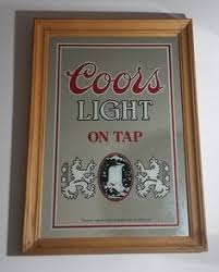 vintage coors light neon sign cerveza coors light neon sign glass tube neon light coors light