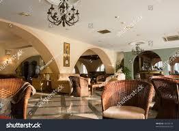 modern luxury hotel lobby room interiorcyprus stock photo 18292174