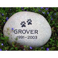 pet memorial stones pet memorial stones river rock engraved with name