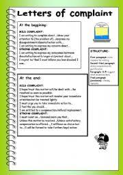collection of solutions example of a formal letter complaint ks2
