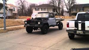 jeep gladiator 1963 my willys gladiator first drive youtube