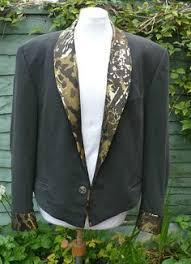 Seeking Jacket Upcycled Desperately Seeking Susan Jacket Uk 10 Us 6 Gold Izana