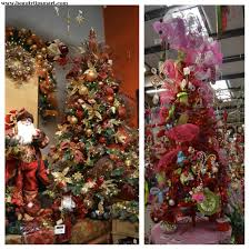 how to put ribbon ons tree vertically horizontal