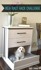 Can You Paint Ikea Furniture by Ikea Rast Dresser Hack Dresser Into Dog Bed U2022 Our House Now A Home