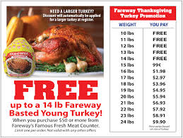 images of thanksgiving turkeys news fareway will give you a free turkey this thanksgiving