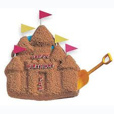 sand castle cake wilton