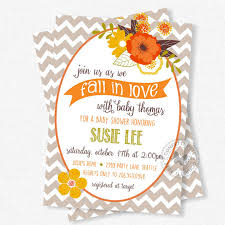fall baby shower invitations floral baby shower invitation