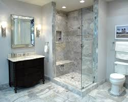 Travertine Bathrooms An Elegant Bathroom Featuring Claros Silver Travertine