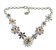 silver flower statement necklace images Cheap silver flower statement necklace find silver flower jpg