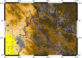 map iran iraq iran iraq earthquake seismologists work to fill in fault map of
