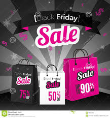 black friday pink sale black friday sale poster stock vector image 46927402