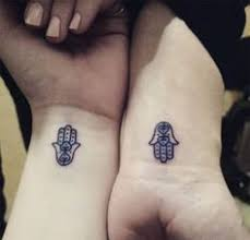 small hamsa tattoo on wrist tattoos pinterest small hamsa