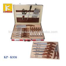 egypt style 25pcs knife set stainless steel kitchen knife set with