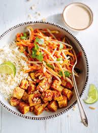 la cuisine de ricardo recette de tempeh grillé et salade de carottes au lait de coco de